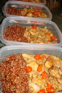 Moroccan Chicken Tagine & Apricot Quinoa Pilaf