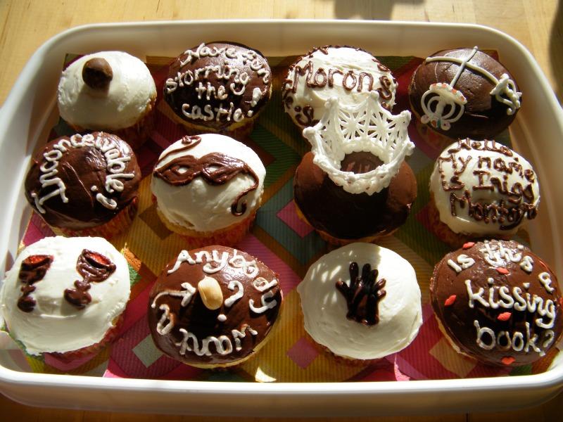 """Princess Bride"" cupcakes by angelaskitchen.com"