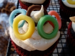 Winter Olympic cupcake by angelaskitchen.com
